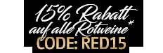 15-Prozent-Rabatt