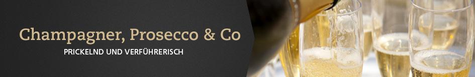 Champagner, Prosecco & Co.