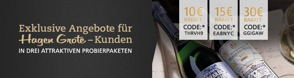 Exklusive Jubiläumsangebote für Hagen Grote Kunden