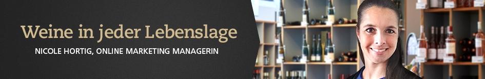 Weinempfehlungen von Nicole Hortig