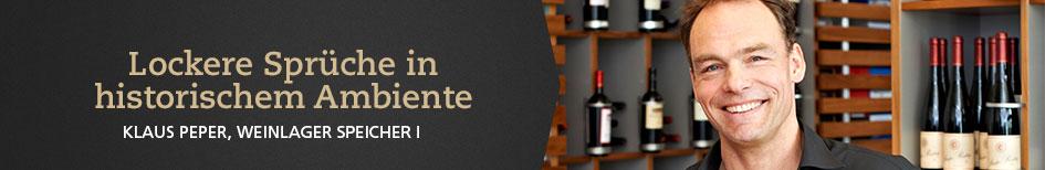 Weinempfehlungen von Klaus Peper