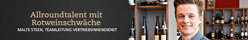 Weinempfehlungen von Malte Steen