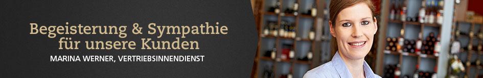 Weinempfehlungen von Marina Werner