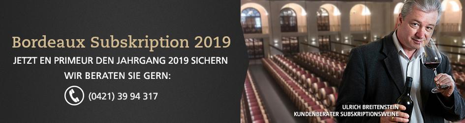 Bordeaux Subskription 2019