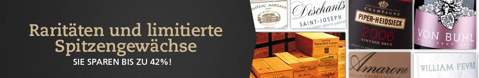 Wein-Raritaeten und Kultweine