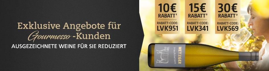 Exklusive Weinangebote für Gourmesso-Kunden
