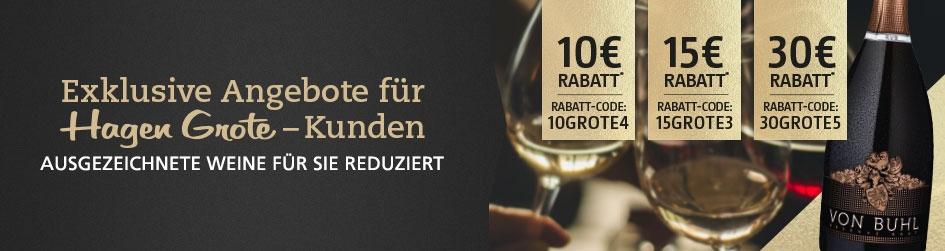 Weinangebote für Hagen Grote Kunden