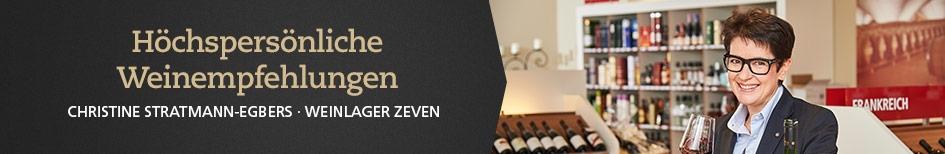 Weinempfehlungen von Christine Stratmann-Egbers
