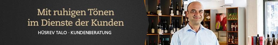 Weinempfehlungen von Hüsrev Talo