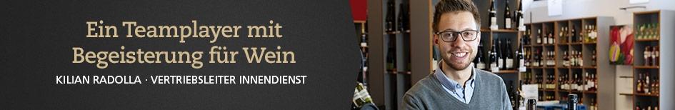 Weinempfehlungen von Kilian Radolla