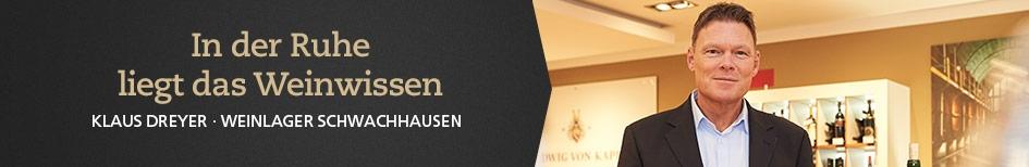 Weinempfehlungen von Klaus Dreyer