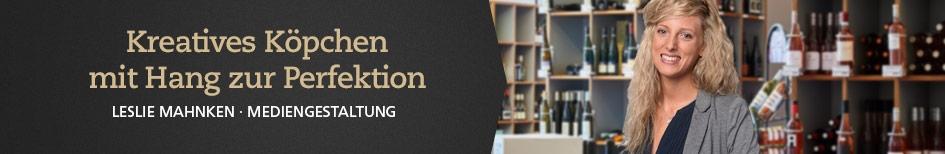 Weinempfehlungen von Leslie Mahnken