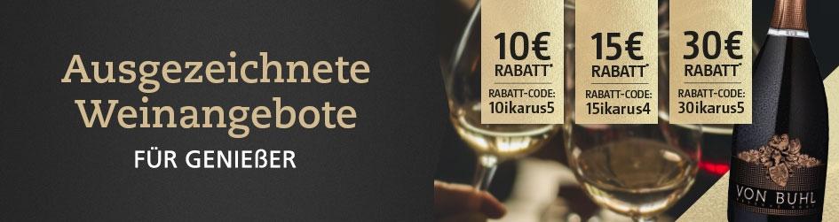 Weinangebote für Genießer