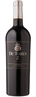 De Toren ''Z'' Wine of Origin Stellenbosch 2014