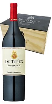 De Toren Fusion V Wine of Origin Stellenbosch in 12er Holzkiste 2014