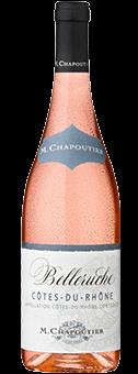 Köstlichalkoholisches - 2019 M. Chapoutier »Belleruche« Rosé Côtes du Rhône AOC - Onlineshop Ludwig von Kapff