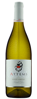 Köstlichalkoholisches - 2019 Attems Pinot Grigio Friaul DOC - Onlineshop Ludwig von Kapff