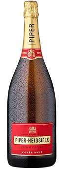 Köstlichalkoholisches - Piper Heidsieck Brut Champagner in der Magnumflasche Champagne AOP 1,5 Literflasche - Onlineshop Ludwig von Kapff