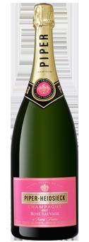 Piper Heidsieck Rosé Sauvage Champagner in der Magnumflasche Champagne AOP 1,5 Literflasche