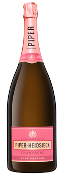 Köstlichalkoholisches - Piper Heidsieck Rosé Sauvage Champagner in der Magnumflasche Champagne AOP 1,5 Literflasche - Onlineshop Ludwig von Kapff