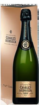 Charles Heidsieck Millesime Brut Vintage Champagner Champagne AOP in attraktiver Geschenkverpackung 2005