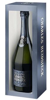 Charles Heidsieck Brut Réserve Champagner in der Magnumflasche Champagne AOP 1,5 Literflasche in attraktiver Geschenkverpackung