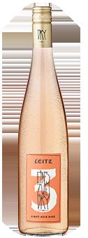 Leitz Eins Zwei Dry Pinot Noir Rosé trocken, Rheingau 2016