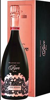 Köstlichalkoholisches - 2007 Piper Heidsieck Rare Rosé Champagner Champagner AOP in Geschenkverpackung - Onlineshop Ludwig von Kapff