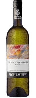 Wohlmuth · Gelber Muskateller Klassik · Qualitätswein trocken 2018