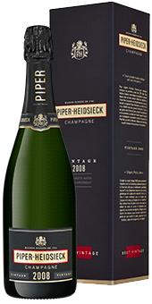 Piper Heidsieck Vintage Brut Champagner Champagne AOP in attraktiver Geschenkverpackung 2008