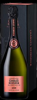 Köstlichalkoholisches - 2008 Charles Heidsieck Rosé Millésime Champagne AOP in Geschenkverpackung - Onlineshop Ludwig von Kapff