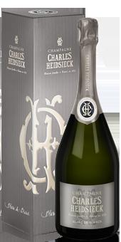 Charles Heidsieck Blanc de Blancs Champagne in der Geschenkverpackung