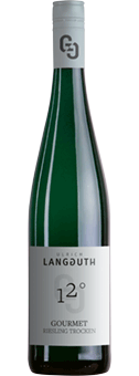 Köstlichalkoholisches - 2020 Langguth Gourmet Riesling trocken, Mosel - Onlineshop Ludwig von Kapff