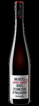 Köstlichalkoholisches - 2017 Emil Bauer »One bottle of my Cabernet Sauvignon beats 23 semesters of philosophy« Pfalz, trocken - Onlineshop Ludwig von Kapff