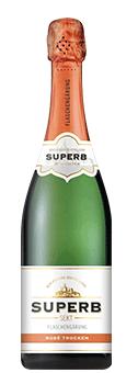 Köstlichalkoholisches - Superb Sekt Rosé Flaschengärung Trocken - Onlineshop Ludwig von Kapff