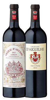 Château d´Aiguilhe - Roter Schafferwein 2018 Côtes de Bordeaux A. C., Castillon 2012