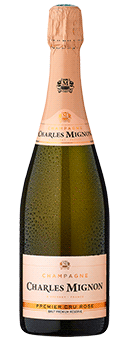 Charles Mignon Brut Rosé Premier Cru Champagner Champagne AOP