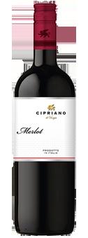 Köstlichalkoholisches - 2019 Cipriano Merlot 1,0 l Veneto IGT - Onlineshop Ludwig von Kapff