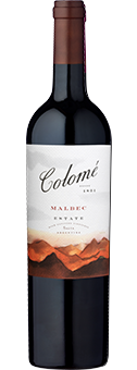 Colomé Estate Malbec Valle Calchaquí, Salta 2015