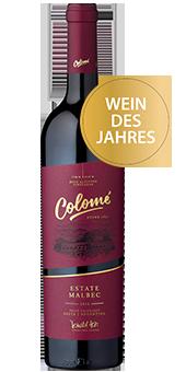 Colomé Estate Malbec Valle Calchaquí, Salta - Wein des Jahres 2016