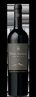 Mas Andes Gran Reserva Valle Central 2015