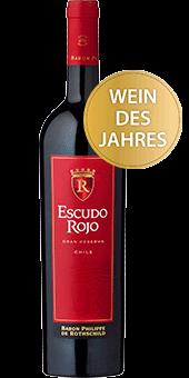 Köstlichalkoholisches - 2018 Rothschild Escudo Rojo Gran Reserva Valle Central Wein des Jahres - Onlineshop Ludwig von Kapff