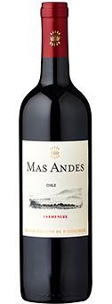 Mas Andes Carmenère Valle Central 2017
