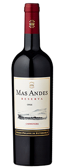 Mas Andes Reserva Carmenère Valle Central 2017