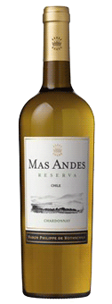 Mas Andes Reserva Chardonnay Valle Central 2017