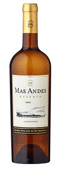 Köstlichalkoholisches - 2019 Mas Andes Reserva Chardonnay Valle Central - Onlineshop Ludwig von Kapff