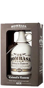 Mombasa Club Colonel's Reserve London Dry Gin Limited edition