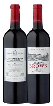 Château Brown - Bremer Eiswette 2019 Pessac Léognan - in attraktiver Holzkiste 2014