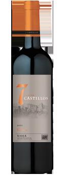 ´´7 Castillos´´ Crianza Rioja D.O.C.a 2015
