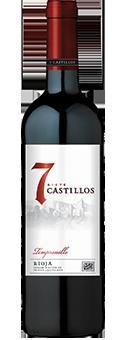 7 Castillos Tempranillo Rioja DOCa 2016